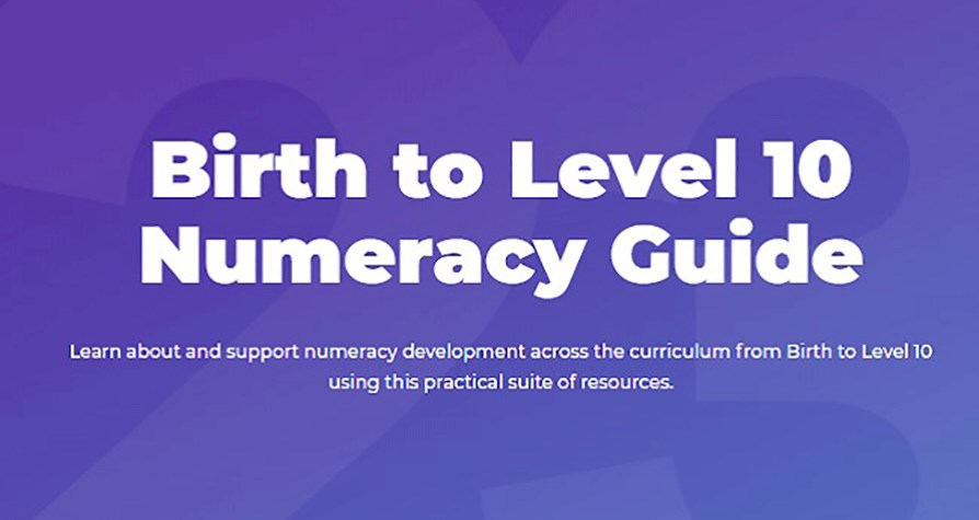 Birth to Level 10 Numeracy Guide