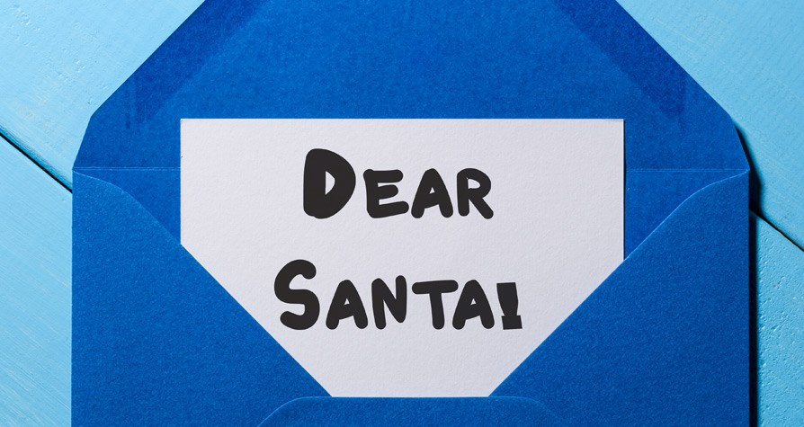 Write a letter to Santa